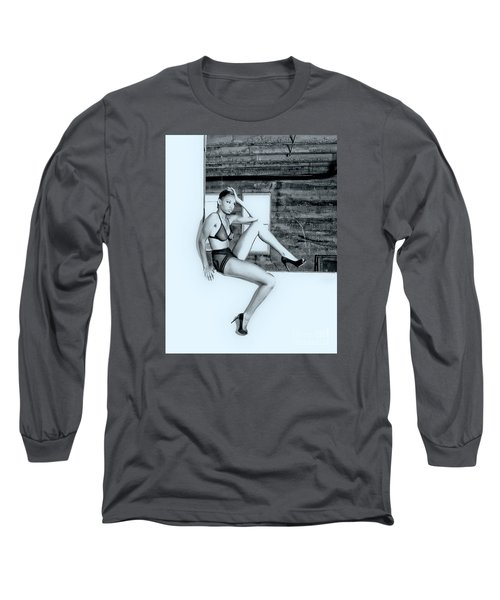 Legs IIi Long Sleeve T-Shirt by Gregory Worsham