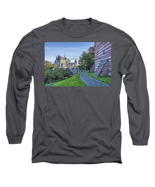 Leiden, The Church And The Castle Long Sleeve T-Shirt