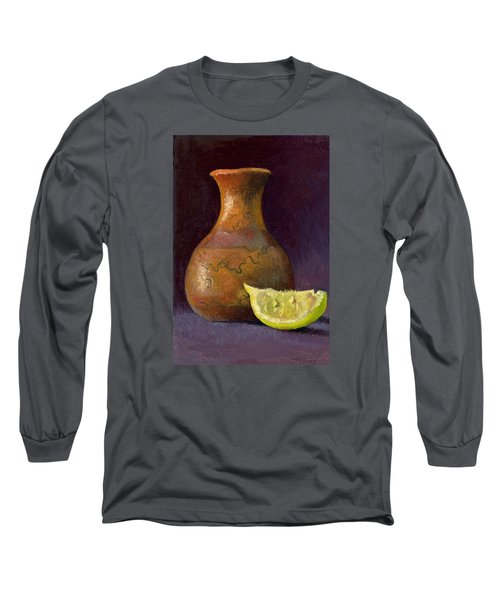 Lemon And Horsehair Vase A First Meeting Long Sleeve T-Shirt