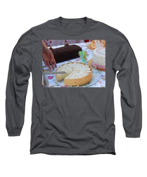 Long Sleeve T-Shirt featuring the photograph Lemon Pie by Beto Machado