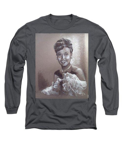 Lena Horne Long Sleeve T-Shirt