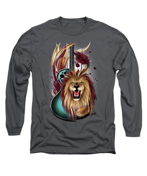 Leo Long Sleeve T-Shirt by Melanie D