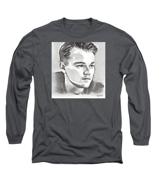 Leonardo Long Sleeve T-Shirt by Wayne Pascall