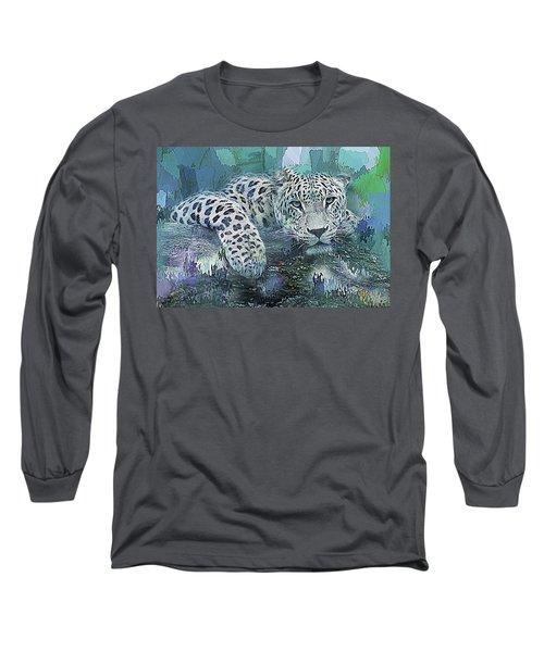 Leopard Abstract Long Sleeve T-Shirt