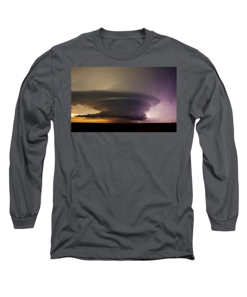Leoti, Ks Supercell Long Sleeve T-Shirt