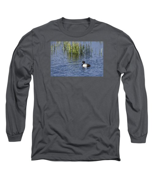 Lesser Scaup Adult Male Long Sleeve T-Shirt