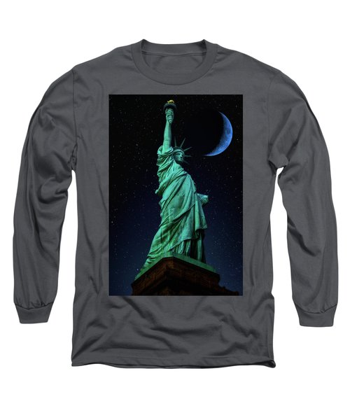 Long Sleeve T-Shirt featuring the photograph Let Freedom Ring by Darren White