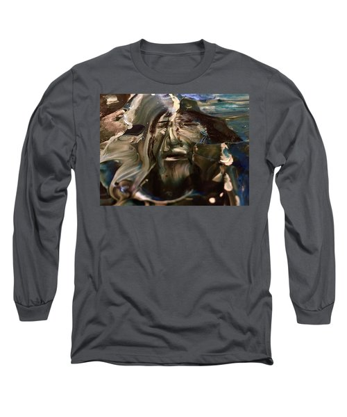 Let Go The Anchor Long Sleeve T-Shirt by Kicking Bear Productions