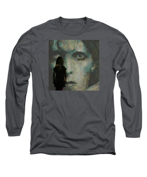 Long Sleeve T-Shirt featuring the painting Let The Children Lose It Let The Children Use It Let All The Children Boogie by Paul Lovering