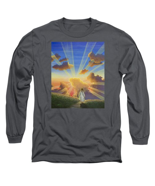 Let The Day Begin Long Sleeve T-Shirt by Jack Malloch