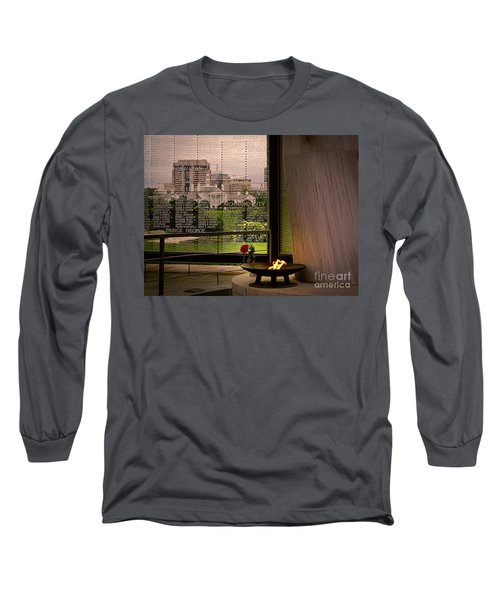 Long Sleeve T-Shirt featuring the photograph Let The Flame Never Die by Melissa Messick