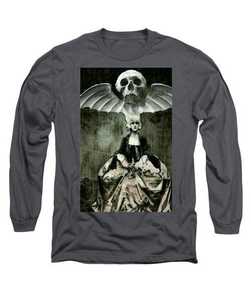 Long Sleeve T-Shirt featuring the digital art Let Them Eat Cake by Delight Worthyn