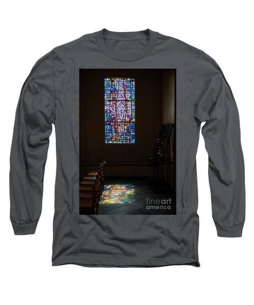 Long Sleeve T-Shirt featuring the photograph Let There Be Coloured Light... by Nina Stavlund