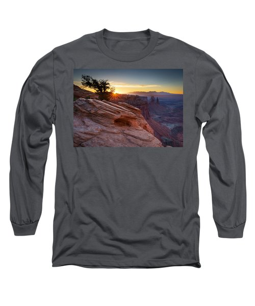 Let There Be Light Long Sleeve T-Shirt by Dan Mihai