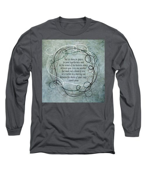 Let There Be Spaces Long Sleeve T-Shirt