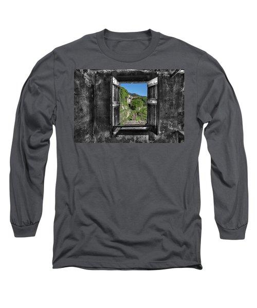 Let's Open The Windows - Apriamo Le Finestre Long Sleeve T-Shirt