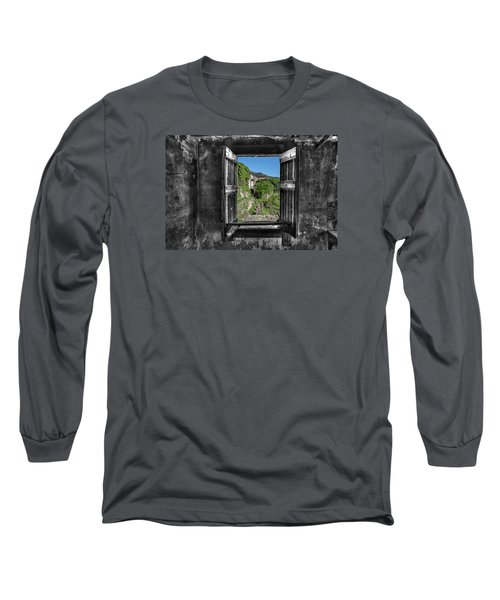 Let's Open The Windows - Apriamo Le Finestre Long Sleeve T-Shirt