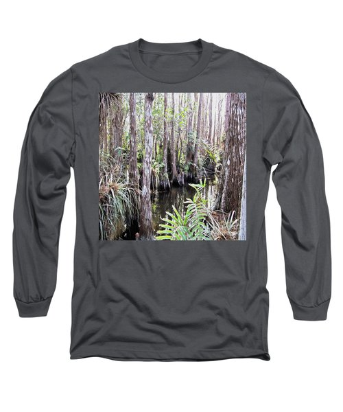 Letting Go Of Today Long Sleeve T-Shirt