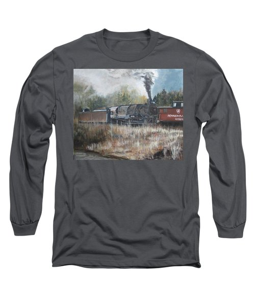 Letting Off Steam Long Sleeve T-Shirt