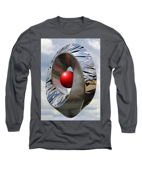 Long Sleeve T-Shirt featuring the photograph Levitation Hybrid by Christopher McKenzie