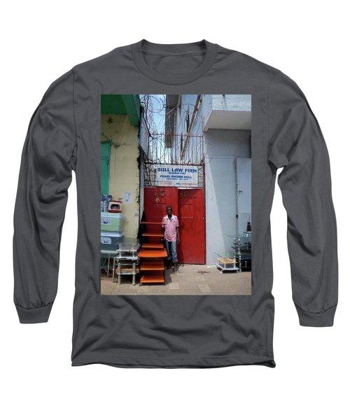 Liberian Lawyer Long Sleeve T-Shirt