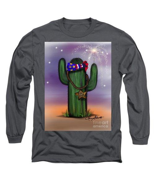 Arizona 4th Of July Long Sleeve T-Shirt