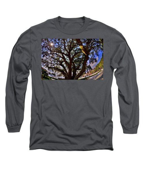 Liberty Oak Harbour Town Hilton Head Sc Long Sleeve T-Shirt