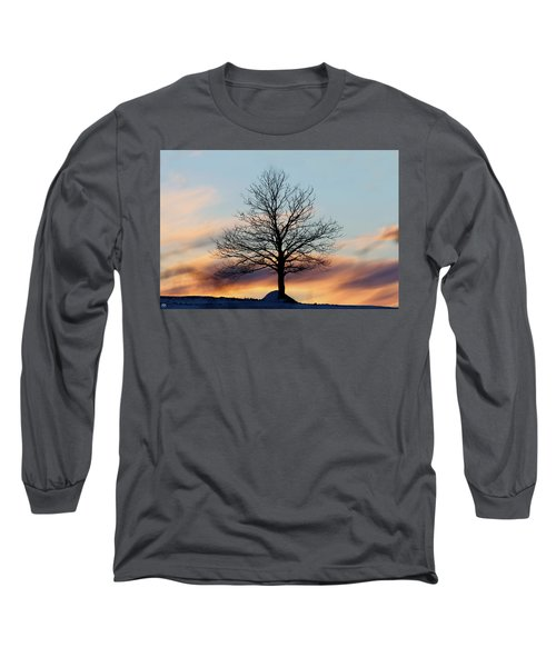 Liberty Tree Sunset Long Sleeve T-Shirt