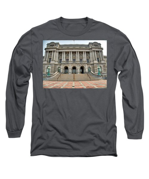 Library Of Congress Long Sleeve T-Shirt