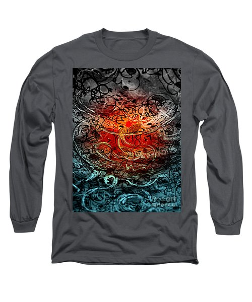 Life Begins Long Sleeve T-Shirt by Nancy Kane Chapman