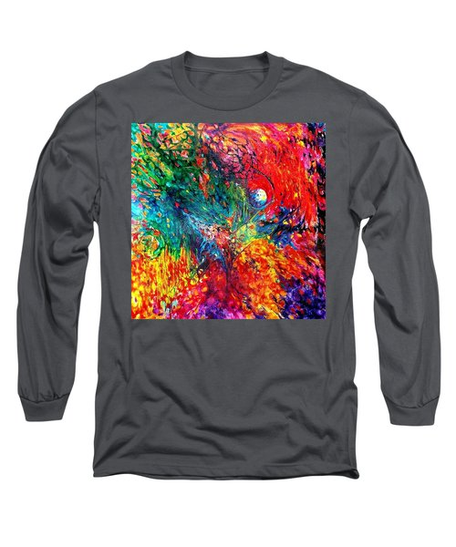 Life Death Rebirth. Heart Chakra. Series Healing Chakras. Long Sleeve T-Shirt by Helen Kagan
