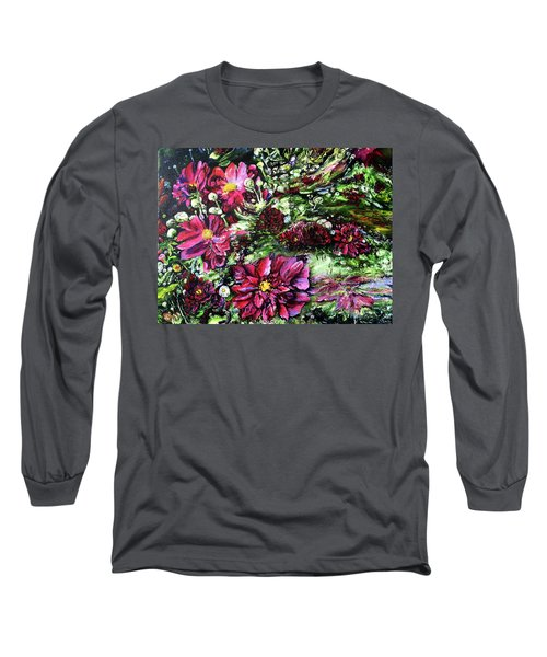Life In A Bloom Field Long Sleeve T-Shirt