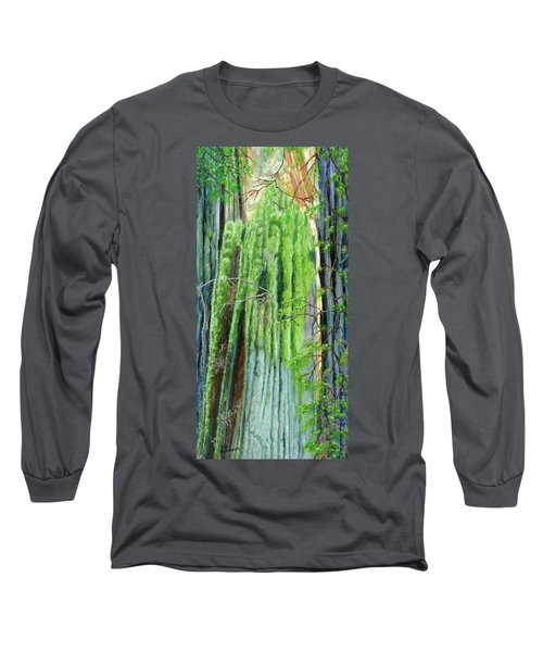 Life In A Redwood Forest Long Sleeve T-Shirt