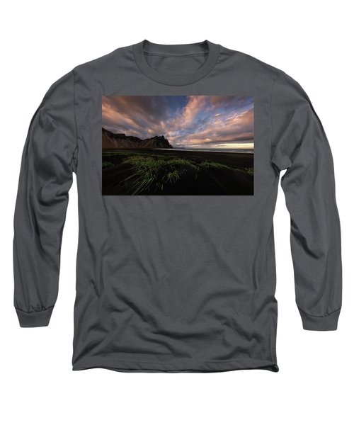 Life In Black And Green Long Sleeve T-Shirt