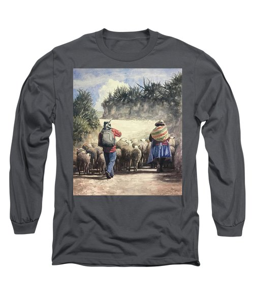 Life In Peru Long Sleeve T-Shirt
