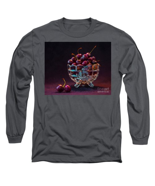 Life Is A Bowl Of Cherries Long Sleeve T-Shirt