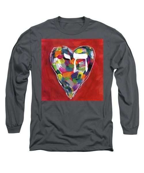 Life Is Colorful - Art By Linda Woods Long Sleeve T-Shirt