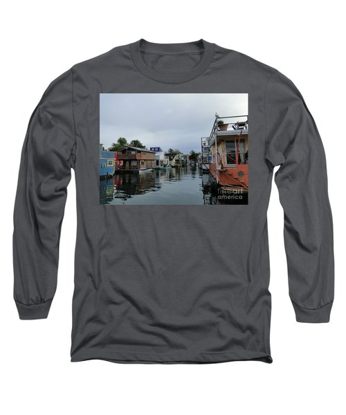 Life On The Water Long Sleeve T-Shirt by Cindy Croal