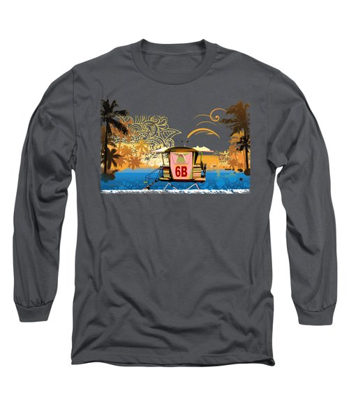 Lifeguard Station 6b Long Sleeve T-Shirt