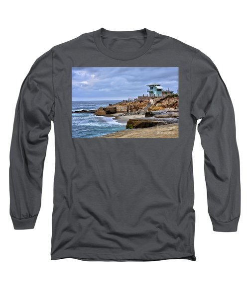 Lifeguard Station At Children's Pool Long Sleeve T-Shirt