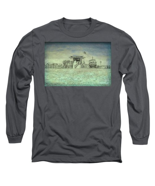 Lifeguard Tower 2 Long Sleeve T-Shirt