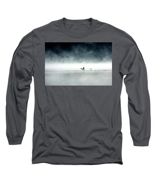 Lift-off Long Sleeve T-Shirt by Brian N Duram