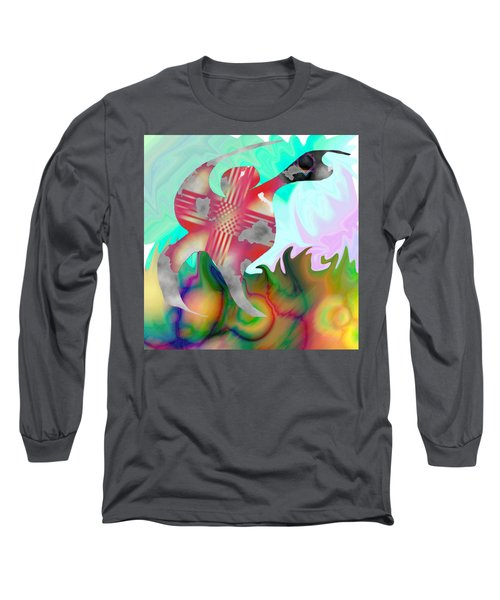 Lifting The Color Long Sleeve T-Shirt