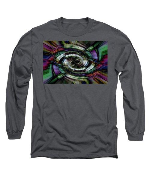 Light Abstract 6 Long Sleeve T-Shirt