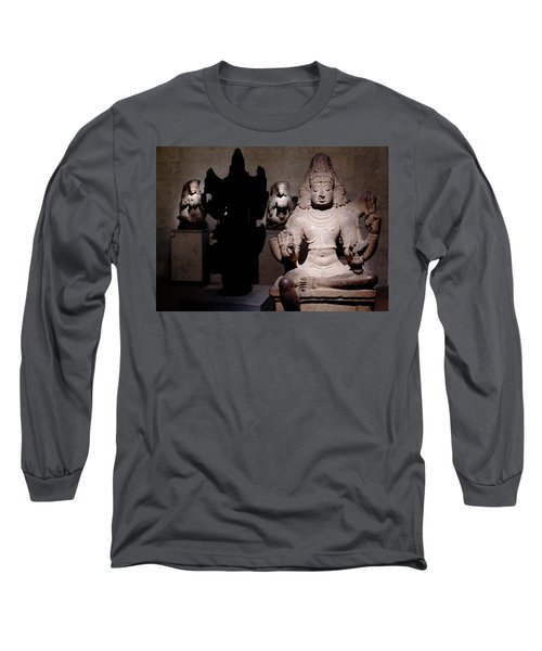 Long Sleeve T-Shirt featuring the photograph Light And Darkness by August Timmermans