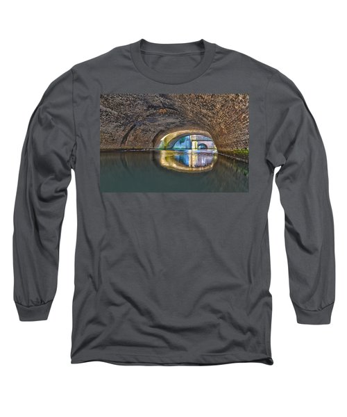 Light At The End Of The Tunnel Long Sleeve T-Shirt by Frans Blok
