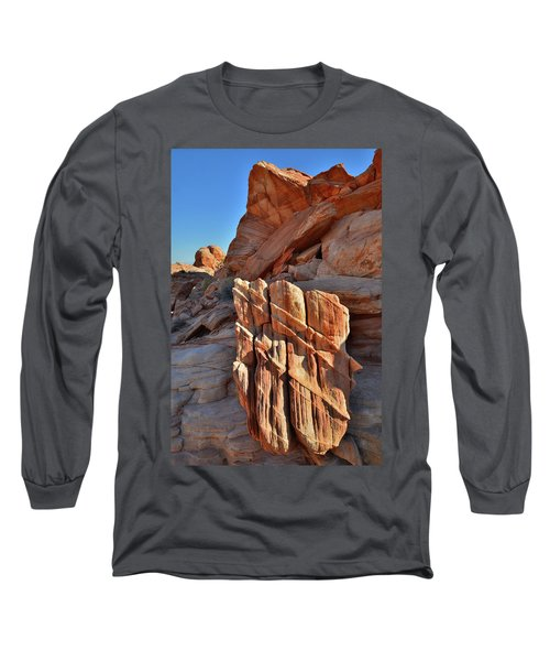 Light Creeps In At Valley Of Fire State Park Long Sleeve T-Shirt