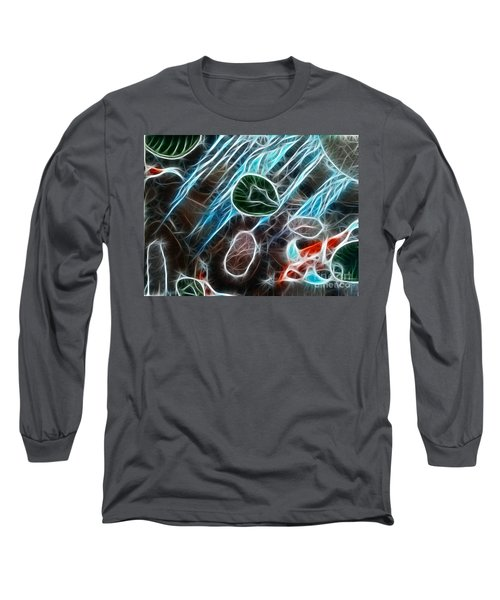 Light Dancing Koi Long Sleeve T-Shirt