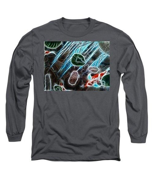 Light Dancing Koi Long Sleeve T-Shirt