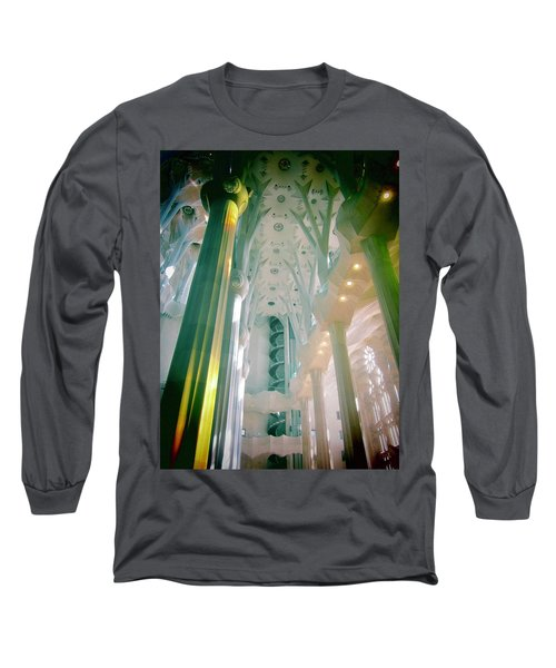 Light Dancing On The Ceiling Long Sleeve T-Shirt by Christin Brodie